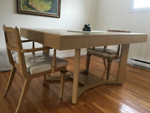 MOVING! Must Sell Art Deco Mid-Century Dining Room Table
