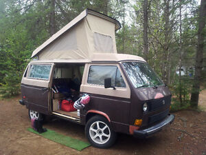 Westfalia 1984 subaru conversion. Ej25.
