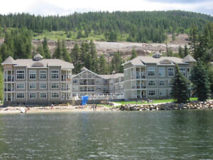 Mara Lake Sicamous vacation condo/ boat slip hottub pool beach