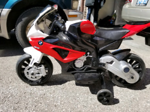 BMW kids motorcycle