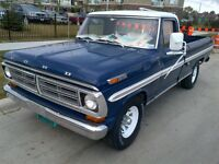 72 SUPER RARE  XLT SPECIAL LIMITED PICKUP WITH AIR CONDITIONING