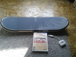Tony hawk Wii board and game