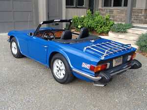 TR6 - Mazda Seat conversion