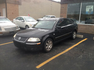 ** SALE ** 2003 Volkswagen Passat GLX 105K's Safety & Etested