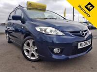 2008 MAZDA 5 2.0 SPORT D 143 BHP+P/X WELCOME+2 F/KEEPERS+50K MILES+BLUETOOTH+AUX