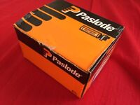 Paslode 38mm F16 Angled Brads and 2 Cells