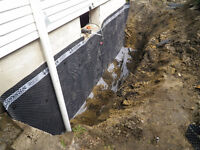 Flooding, Foundation Repair,Surface run off and grading