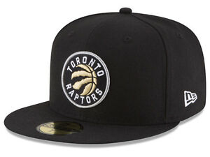Fitted 7 1/8 Raptors New Era NBA Solid Team 59FIFTY Hat