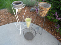 Shabby Chic Plant Stands