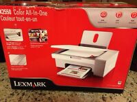 Lexmark printer/scanner/copier