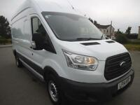 2014 FORD TRANSIT 2.2 TDCI 125 350 RWD L3 H3 **FSH**BUY FROM £67 P/W ** PANEL VA