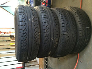 One season used Pirelli tires