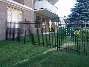 ORNAMENTAL/ WROUGHT IRON FENCE PANEL'S / GATE'S AND POST'S
