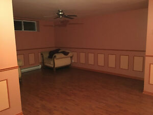 Huge 4 1/2 basement for rent