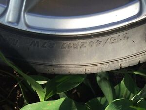 17 inch 5x113 rims one has MAJOR curb damage  Cambridge Kitchener Area image 7