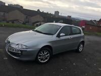 Alfa Romeo 147 1.6 T.Spark Lusso 12 months mot free uk delivery