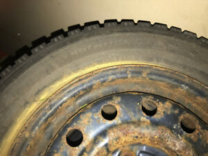 2 Sets (4 total) of Winter Tires with rims (4 bolts)