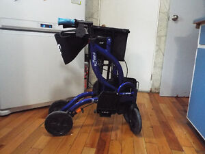 Walker/transfer wheelchair