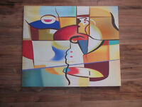 Abstract wall hanging for sale!