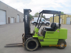 CLARK 6000 LBS CAP FORKLIFT EXCELLENT WORKING UNIT