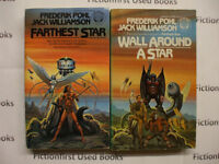 """""""Science Fiction 2 Book Series"""" by: Frederik Pohl & Jack William"""