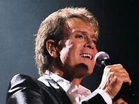 2 Cliff Richard Concert Tickets for 17th June at Eastnor Castle, Ledbury