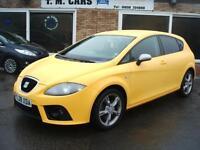 Seat Leon 2.0TDI FR 5dr diesel sport tel 01656 724800.