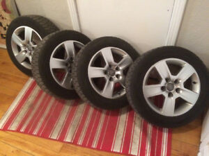 "Audi 16"" Wheels and Tires"
