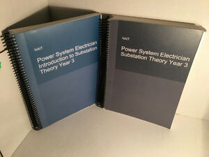 Power systems electrician 3rd year text books