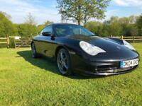 2004 Porsche 911 996 CARRERA 4 TIP TRONIC BLACK FSH JUST SERVICED NEW MOT