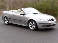 Saab 9-3 2.0 Turbo 2006 Vector Convertable 64 000 Miles, 6 Months AA Warranty