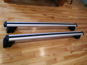 Barres de toit pour Volvo XC60 - Cross bars for Volvo XC60