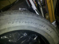 Firestone P225/60R18  All season Tires