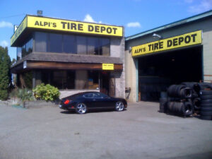 TIRES & WHEELS for ALL - The Shop to Use - ALWAYS !!!