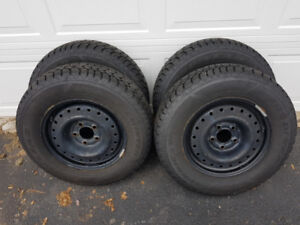 Winter Tires and Wheels 205/70R15
