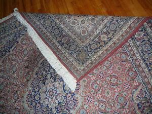 Splendide tapisPERSAN ARDAKAN fait main,laine 8x5', motif herati West Island Greater Montréal image 9