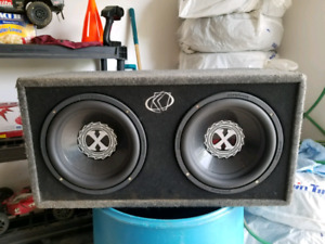 12 inch Powerbass Subwoofers, Full System