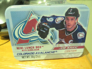 2003 NHL Joe Sakic  Mini Lunch Box