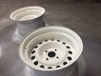 4x100 banded steel wheels BRAND NEW!