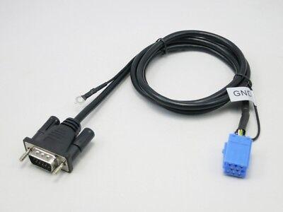 Gebruikt, Kabelbaum Yatour MT 06/07 passend für AUDI 8pin Mini ISO VGA Kabel DMC MP3 tweedehands  verschepen naar Netherlands