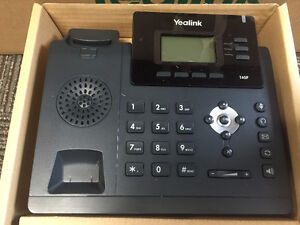 5 x Yealink T40P SIP / VoIP Small Business Phone