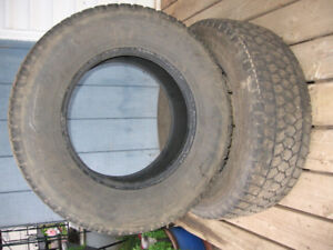2 only toyo studless tires 265 70 17