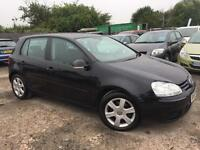 VOLKSWAGEN GOLF 2007 1.6 FSI MATCH PETROL - MANUAL - 1 OWNER FROM NEW