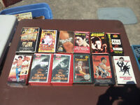 VHS Collection - Lot of 11 KUNG FU movies on VHS - Rare titles