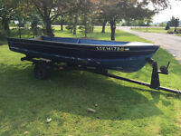 15' Aluminum Boat not Steel