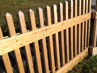 Cedar high end deck  enclosure or fence