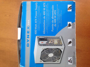 Power  supply 400 watts-ATX