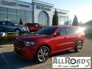 2013 Dodge Durango RT AWD Loaded 37900kms DVD, Roof, Nav!