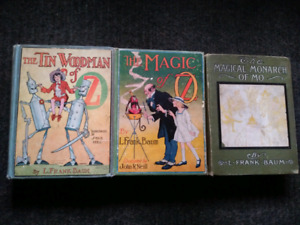 3 Original Co. 1919 , L Frank Baum Oz Books