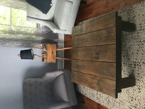 Barnboard rustic coffee table